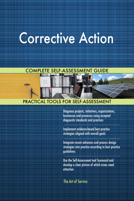 Corrective Action Toolkit