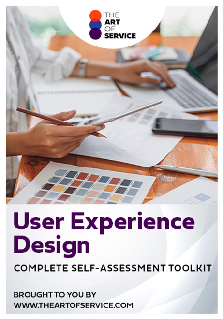 User Experience Design Toolkit