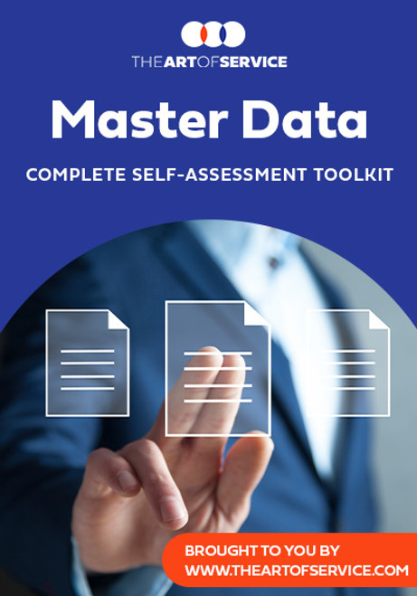 Master Data Toolkit