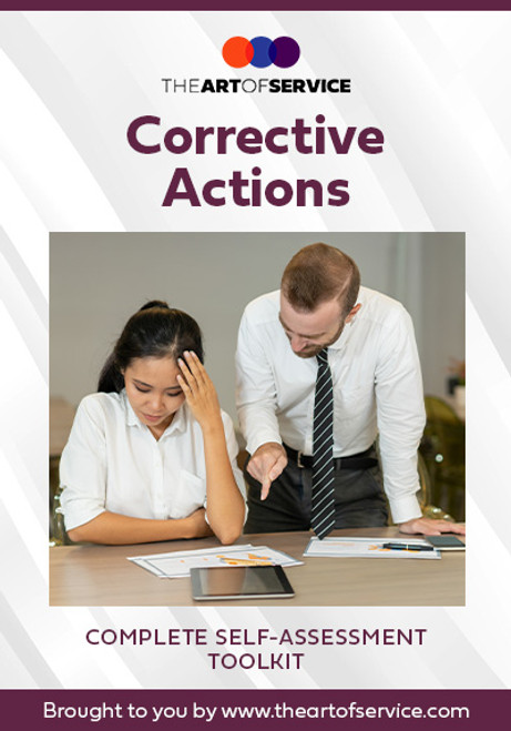 Corrective Actions Toolkit