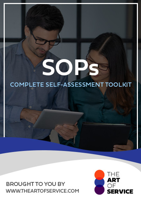 SOPs Toolkit
