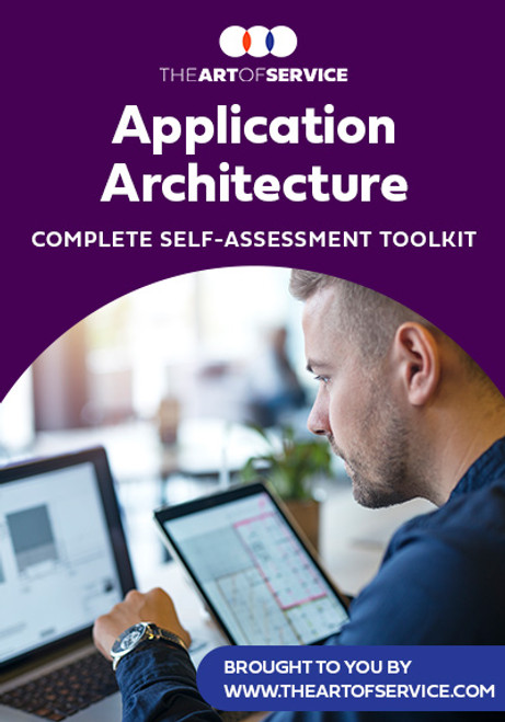Application Architecture Toolkit