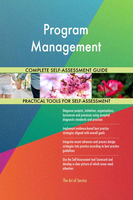 Program Management Toolkit