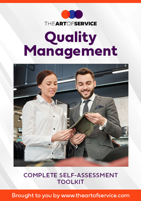 Quality Management Toolkit