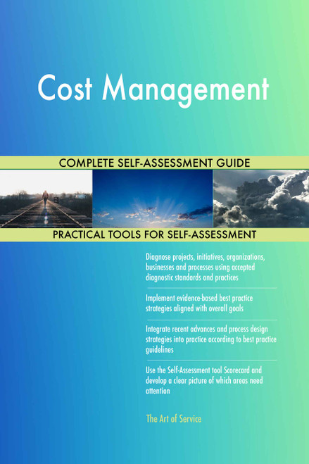 Cost Management Toolkit