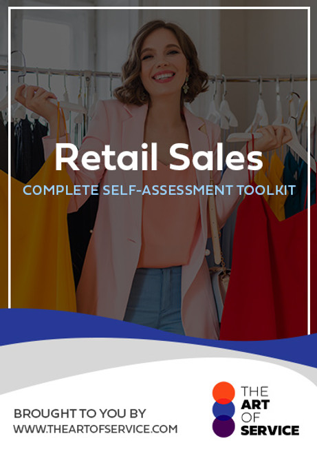 Retail Sales Toolkit