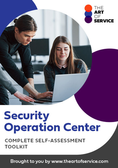 Security Operation Center Toolkit