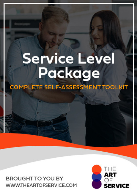 Service Level Package Toolkit
