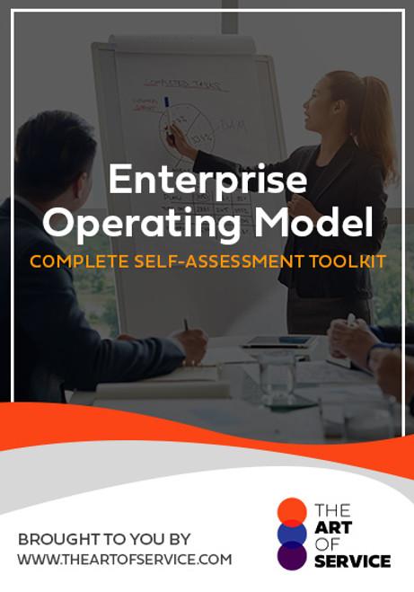 Enterprise Operating Model Toolkit