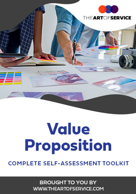 Value Proposition Toolkit