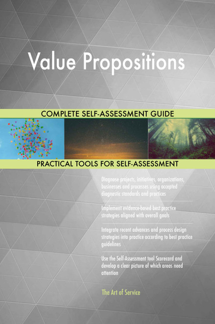 Value Propositions Toolkit