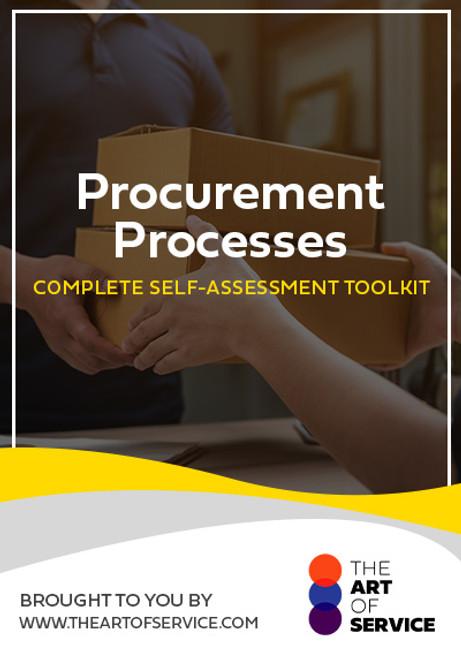 Procurement Processes Toolkit
