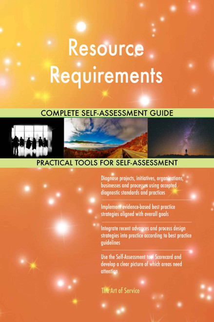 Resource Requirements Toolkit