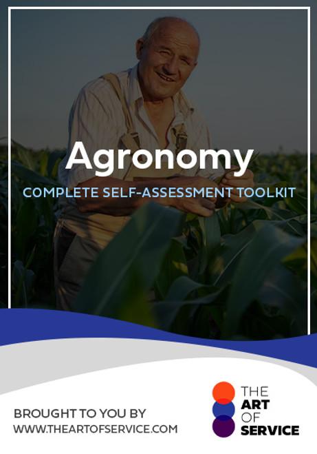 Agronomy Toolkit