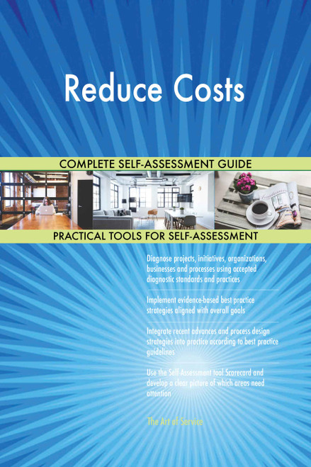 Reduce Costs Toolkit