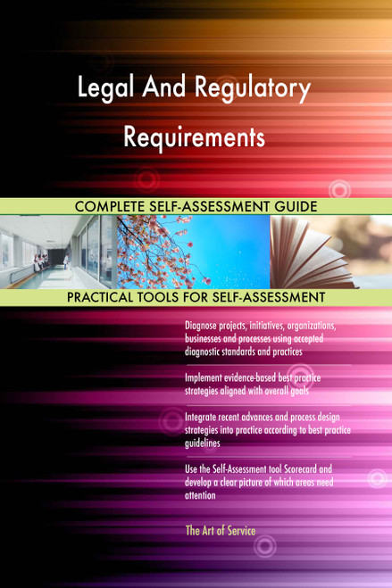 Legal And Regulatory Requirements Toolkit