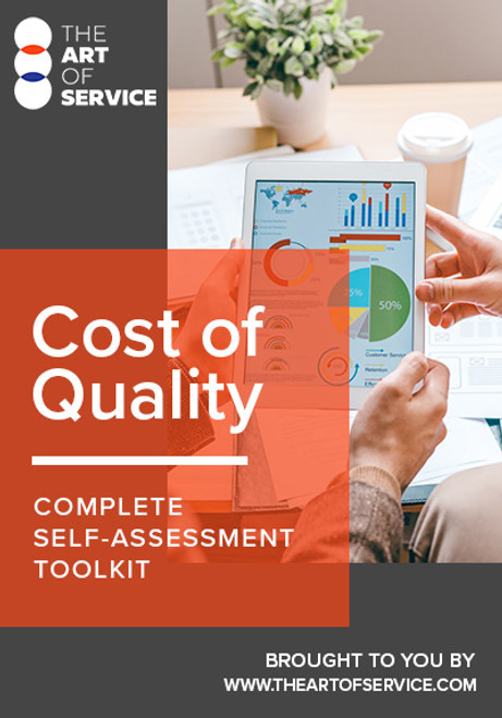 Cost of Quality Toolkit