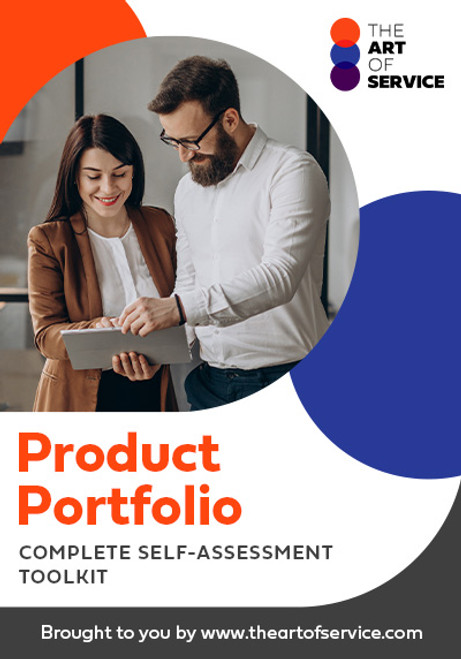 Product Portfolio Toolkit