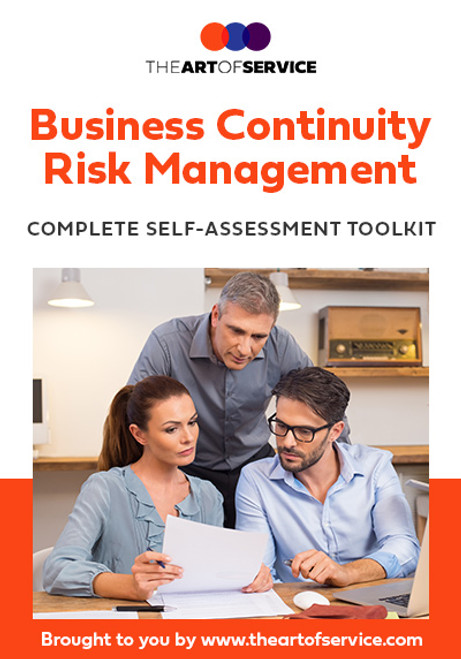 Business Continuity Management Risk