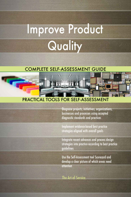Improve Product Quality Toolkit