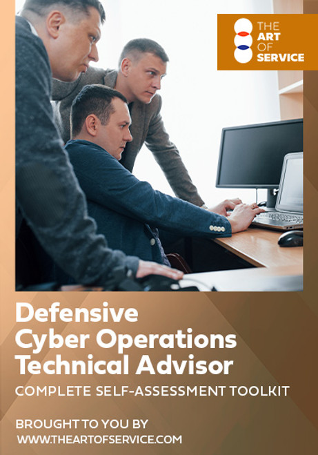 Defensive Cyber Operations Technical Advisor Toolkit