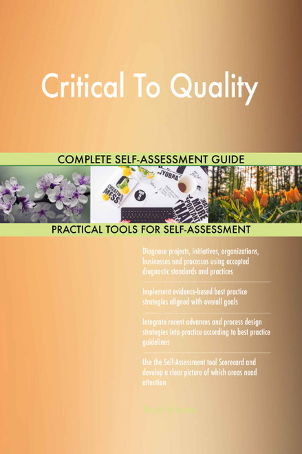 Critical To Quality Toolkit