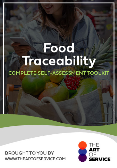 Food Traceability Toolkit
