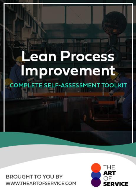 Lean Process Improvement Toolkit