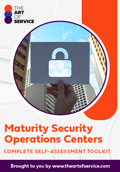 Maturing Security Operations Centers