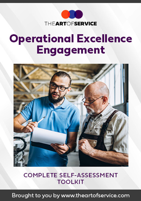 Operational Excellence Engagement Toolkit