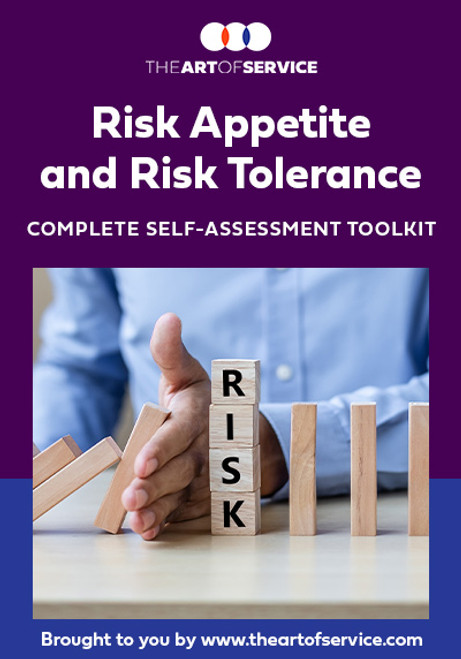 Risk Appetite And Risk Tolerance