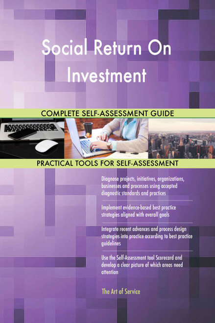 Social Return On Investment Toolkit