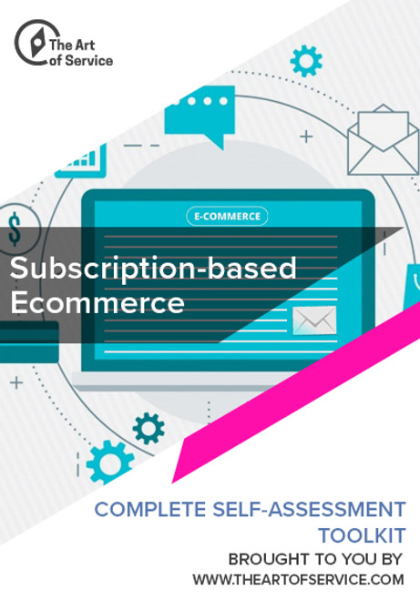 Subscription Based Ecommerce