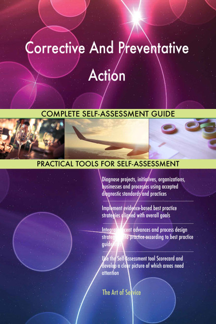 Corrective And Preventative Action Toolkit