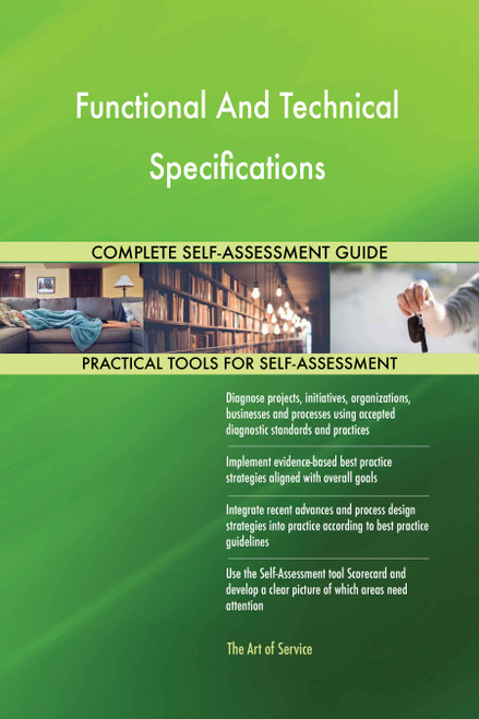 Functional And Technical Specifications Toolkit