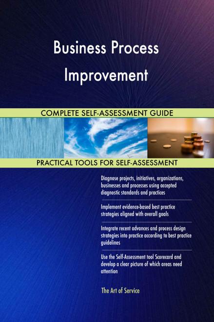 Business Process Improvement Toolkit