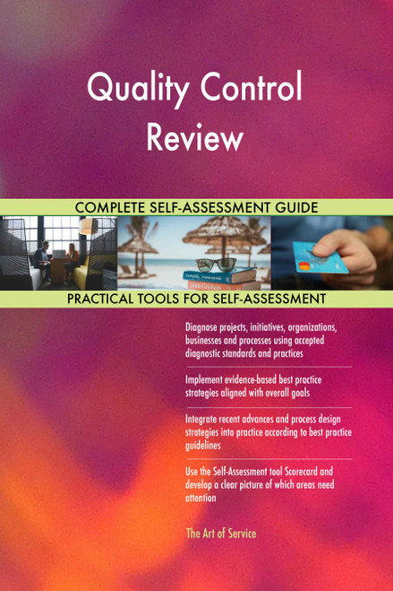 Quality Control Review Toolkit