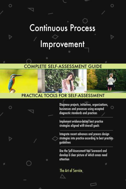 Continuous Process Improvement Toolkit