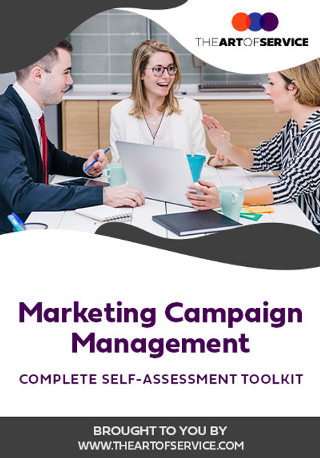 Marketing Campaign Management Toolkit