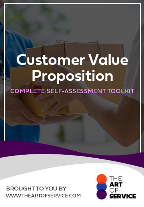 Customer Value Proposition Toolkit