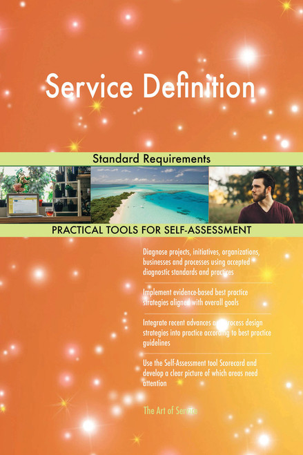 Service Definition Standard Requirements