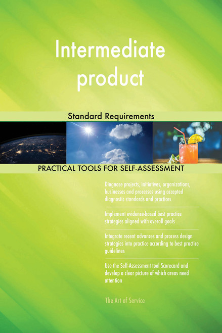 Intermediate product Standard Requirements