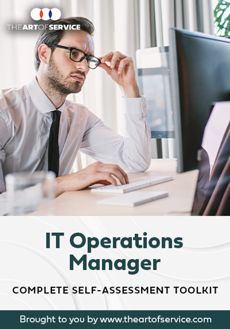 IT Operations Manager Toolkit