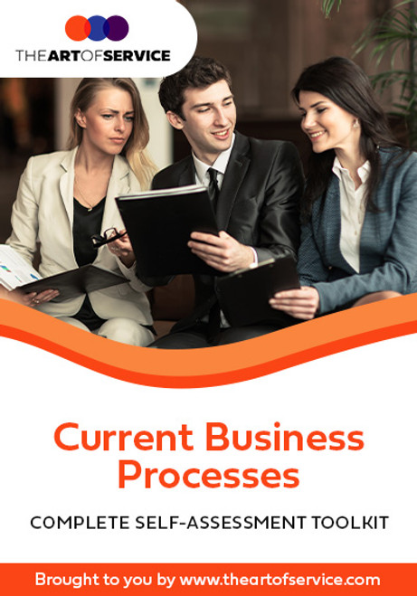 Current Business Processes Toolkit