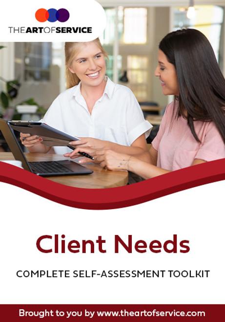 Client Needs Toolkit