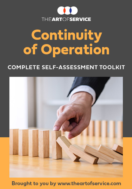 Continuity of Operation Toolkit
