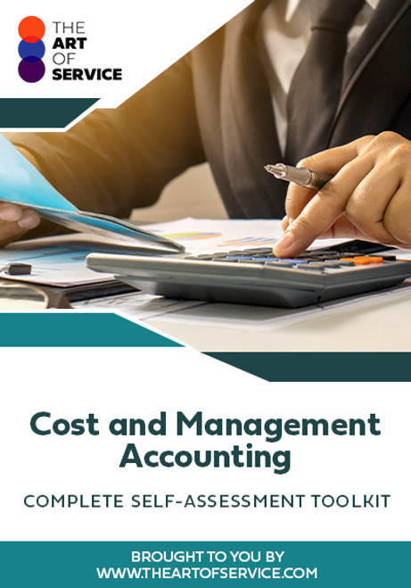 Cost and Management Accounting Toolkit