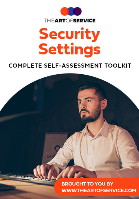 Security Settings Toolkit