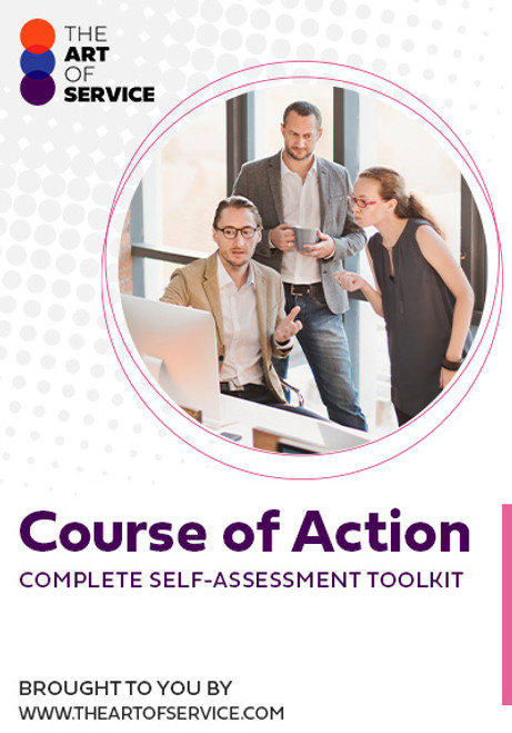Course of Action Toolkit