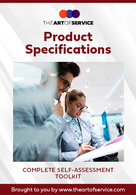 Product Specifications Toolkit